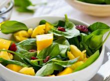 Baby Spinach and Mango Salad Recipe