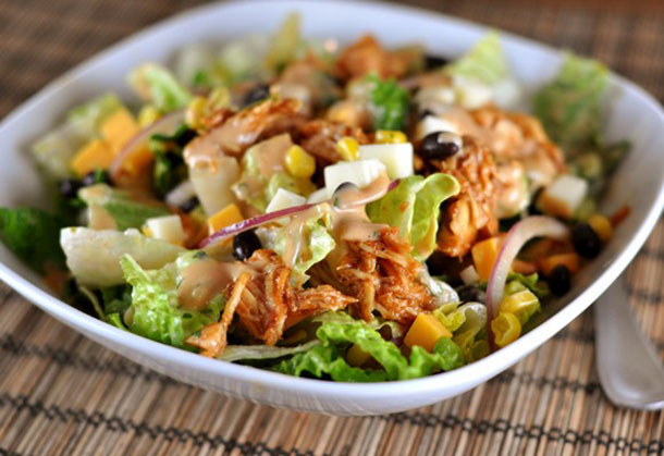 Chicken Salad with Barbecue Sauce Recipe