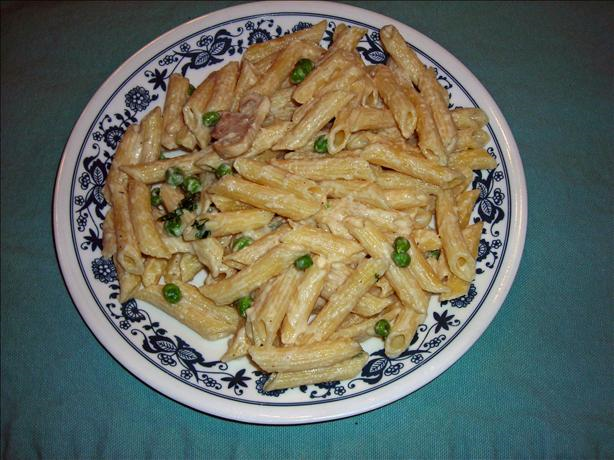Creamy Garlic Penne Pasta Recipe