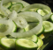 Cucumber-Zucchini Salad Recipe