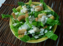 Famous Caesar Salad Recipe