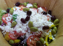 Famous Greek Salad Recipe