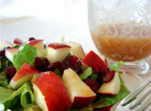 Fruity Vinaigrette Dressing & Salad Recipe