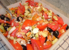 Greek Tomato Salad Recipe