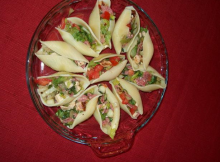 Italian Chopped Salad in Shells Recipe