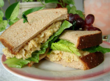 Mock Tuna Salad (Chickpea Salad) Recipe