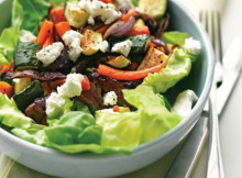 Oven-Baked Vegetable and Cheese Salad Recipe
