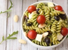 Pasta Salad with Arugula Pesto Recipe
