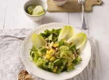 Pineapple Endive Salad with Cashews Recipe