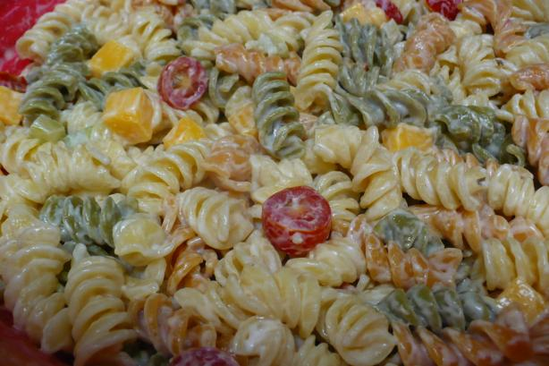 super easy pasta salad recipe easy salad recipes
