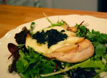 Taleggio, Pear and Basil Chicken Salad Recipe