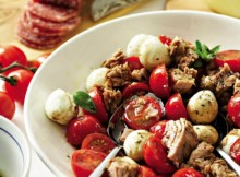 Tuna Salad with Cherry Tomatoes Recipe