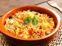 Warm Quinoa and Veggie Salad Recipe
