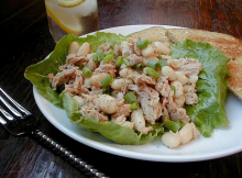 White Bean & Tuna Salad Recipe