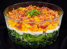 Yummy 7 Layer Salad Recipe