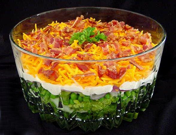 Yummy 7 Layer Salad Recipe – Easy Salad Recipes