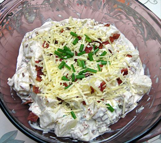 Yummy Baked Potato Salad Recipe