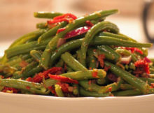 Warm Green Bean Salad Recipe