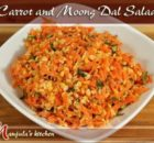 VIDEO Carrot and Moong Dal Salad Recipe by Manjula