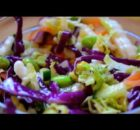 VIDEO Chopped Asian Salad Recipe - Vegetarian Recipe!