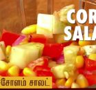 VIDEO Quick Raw Corn Salad Recipe - Puthuyugam Recipe