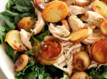 VIDEO Spinach Salad with Chicken and Crispy Potatoes - Everyday Food with Sarah Carey